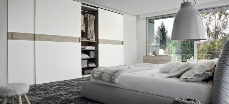 Camere moderne - Camera da letto tortora ...